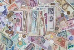 Fond d'argent, collection d'argent de plan rapproché image libre de droits