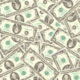 Fond d'argent comptant Image libre de droits
