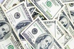 Fond d'argent comptant Photographie stock