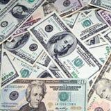 Fond d'argent d'affaires Image stock