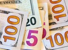Fond d'argent des USA image libre de droits