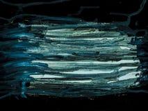 Fond d'art abstrait Peinture à l'huile sur la toile Fragment d'illustration Taches de peinture à l'huile Traçages de peinture Art illustration libre de droits