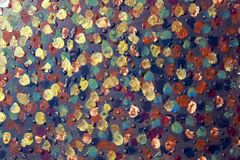 Fond d'art abstrait Peinture à l'huile sur la toile Peint à la main Art contemporain Fragment d'illustration images stock