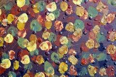 Fond d'art abstrait Peinture à l'huile sur la toile Peint à la main Art contemporain Fragment d'illustration image stock