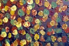Fond d'art abstrait Peinture à l'huile sur la toile Peint à la main Art contemporain Fragment d'illustration photographie stock libre de droits