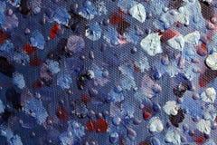 Fond d'art abstrait Peinture à l'huile sur la toile Peint à la main Art contemporain Fragment d'illustration images libres de droits