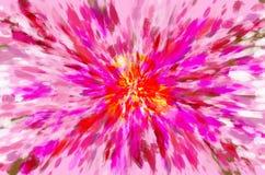 Fond d'art de fleur Image libre de droits
