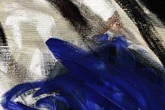 Fond d'art, peignant sur la toile Photo libre de droits