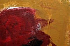 Fond d'art, peignant sur la toile Photos libres de droits