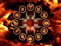 Fond d'astrologie images libres de droits