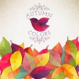 Fond d'automne Illustration de vecteur Image stock