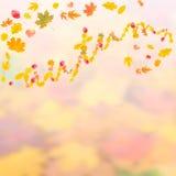 Fond d'automne pour la conception II illustration de vecteur