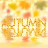 Fond d'automne pour la conception VI illustration libre de droits
