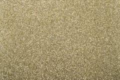 Fond d'or avec la texture de scintillement Images stock