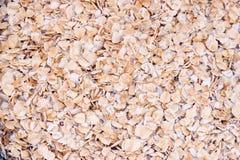 Fond d'avoine roulée Image stock