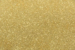Fond d'or d'abrégé sur texture de scintillement Photographie stock libre de droits