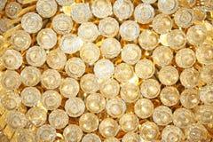 Fond d'or de lustre photo stock
