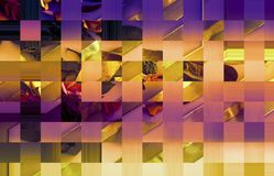 Fond d'or de luxe d'ombre de sarcelle d'hiver Papier peint riche confortable et confortable de thème de chute Papier d'art d'or d illustration libre de droits