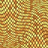 Fond d'or de mosaïque Photo stock