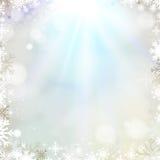 Fond d'or de Noël abstrait de vacances Photo libre de droits