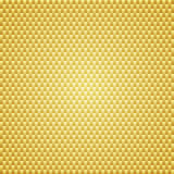 Fond d'or de texture de Kevlar de carbone Photo libre de droits