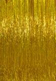 Fond d'or de tresse de Noël photographie stock libre de droits