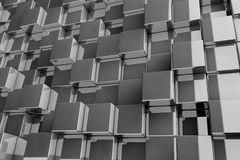fond 3D des cubes en texture illustration de vecteur