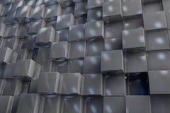 fond 3D des cubes en texture illustration stock