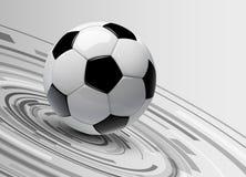 Fond 3d du football Image libre de droits