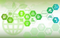 Fond d'Eco illustration libre de droits