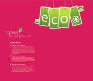 Fond d'Eco pour votre propre texte. Photographie stock libre de droits