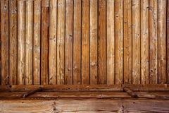 Fond 3d en bois rustique Photos stock