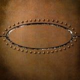 Fond d'en cuivre de Steampunk Photos stock