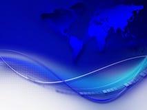 Fond d'entreprise abstrait bleu illustration libre de droits