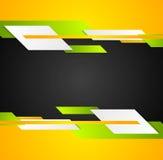 Fond d'entreprise de technologie lumineuse de contraste illustration stock