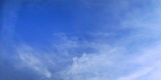 Fond d'espace libre de ciel bleu et scène de panorama Photo libre de droits