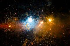 Fond d'espace lointain Photo libre de droits