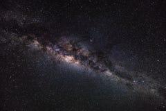 Fond d'espace lointain avec les chimères et l'étoile brillante Manière laiteuse Images libres de droits