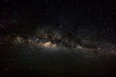 Fond d'espace lointain avec les chimères et l'étoile brillante Manière laiteuse Photos stock