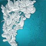 fond 3D floral Photographie stock