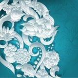 fond 3D floral Image stock