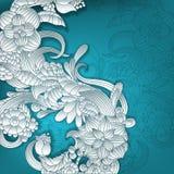 fond 3D floral Photographie stock libre de droits