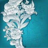 fond 3D floral Image libre de droits