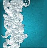 fond 3D floral Images libres de droits
