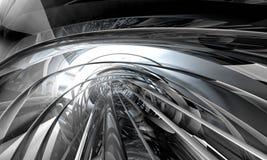 fond 3D futuriste Images stock