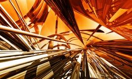 fond 3D futuriste Photo stock