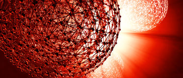 fond 3D futuriste Photo libre de droits
