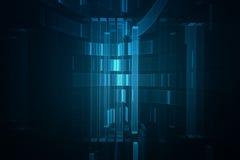 Fond 3D futuriste abstrait illustration libre de droits
