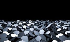 Fond 3D géométrique Photographie stock