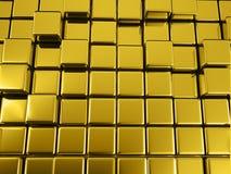 fond d'or géométrique d'abrégé sur l'illustrtion 3d illustration de vecteur
